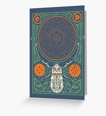 Doom Beetle 3 Greeting Card