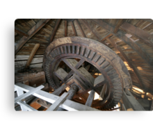 Cley Windmill machinery Metal Print