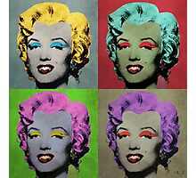 Vampire Marilyn set of 4 Photographic Print