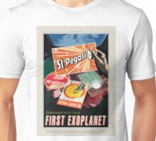 51 Pegasi b - Greeting From Your First Exoplanet Unisex T-Shirt