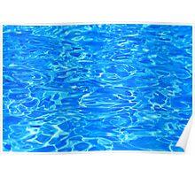 Blue Water - Summer Bliss Poster