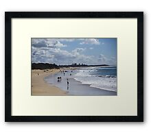 Dicky Beach Framed Print