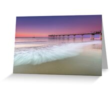 Pretty in Pink - Hervey Bay Qld Australia Greeting Card