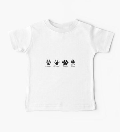 Moony, Wormtail, Padfoot and Prongs Baby Tee