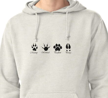 Moony, Wormtail, Padfoot and Prongs Pullover Hoodie