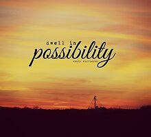 Dwell Possibility Emily Dickinson by Kimberose