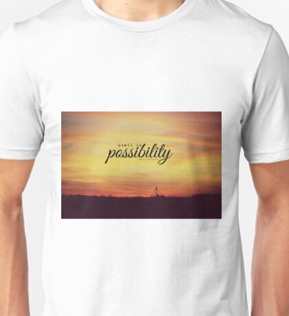 Dwell Possibility Emily Dickinson Unisex T-Shirt