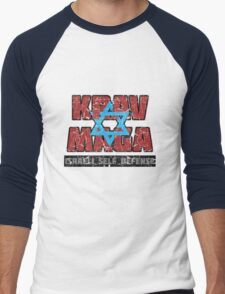 Israeli Krav Maga Magen David Men's Baseball ¾ T-Shirt