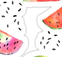 Watermelon seeds Sticker