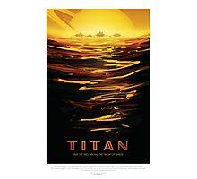 Visit Titan - Ride the Tides Through the Throat of Kraken Photographic Print