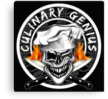 Skull Chef 7: Culinary Genius 2 Canvas Print