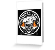 Skull Chef 7: Culinary Genius 2 Greeting Card