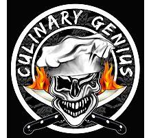 Skull Chef 7: Culinary Genius 2 Photographic Print