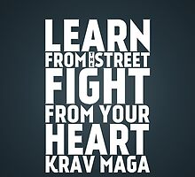 Learn from the street Krav Maga by crouchingpixel