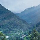 Mountain Rays by Svetlana Sewell