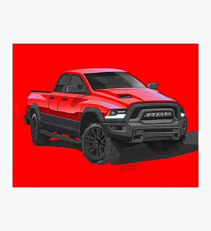 PICK-UP TRUCK Photographic Print