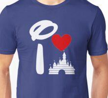 I Heart Castle (white) Unisex T-Shirt