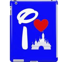 I Heart Castle (white) iPad Case/Skin