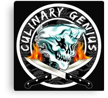 Skull Chef 8: Culinary Genius 2 Canvas Print