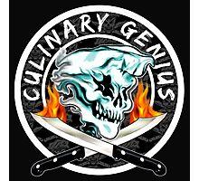 Skull Chef 8: Culinary Genius 2 Photographic Print