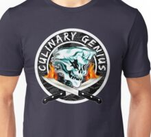 Skull Chef 8: Culinary Genius 2 Unisex T-Shirt