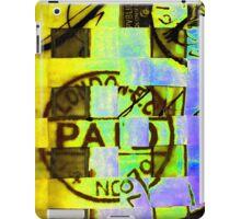 Abstract Print iPad Case/Skin