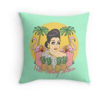 Bianca Del Rio 'Not Today Satan' Throw Pillow