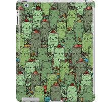 Catcus Garden iPad Case/Skin