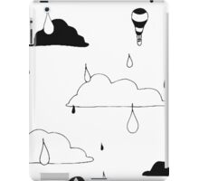 Cloudy Days Ink Print iPad Case/Skin