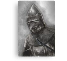 Armoured Canvas Print
