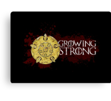 Growing Strong - House Tyrell Canvas Print
