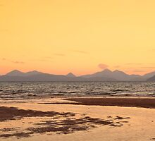 Skye Sunset From Applecross by derekbeattie