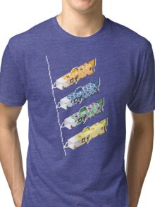 swimming in the sky Tri-blend T-Shirt