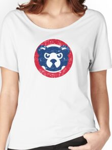 cubs chicago Women's Relaxed Fit T-Shirt