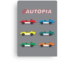 Autopia Poster Canvas Print