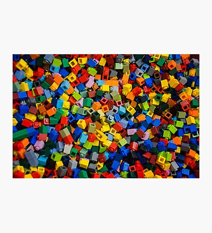 Dreaming in Legos Photographic Print