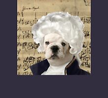 Mozart and Marie The Admiral Bulldog Composer Unisex T-Shirt