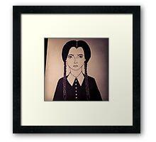 Morbid Girl Framed Print