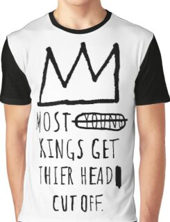 "Basquiat ""Young Kings"" Quote Graphic T-Shirt"