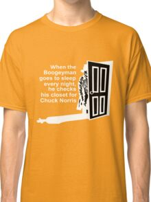 Chuck Norris Facts Classic T-Shirt