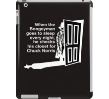 Chuck Norris Facts iPad Case/Skin