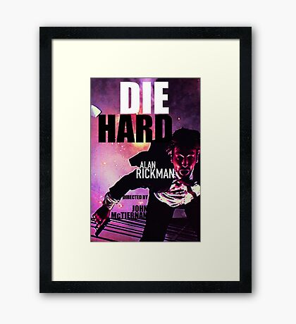 DIE HARD 6 Framed Print