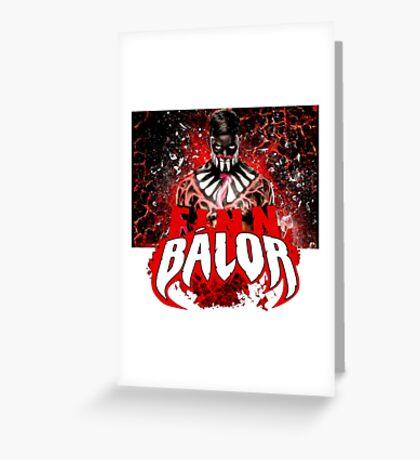 Finn Balor Greeting Card