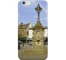Turner's Memorial, Buxton iPhone Case/Skin