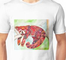 Sleepy red panda  Unisex T-Shirt