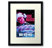 DIE HARD 7 Framed Print