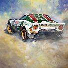 Lancia Stratos 1976 Rallye Sanremo by Yuriy Shevchuk