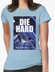 DIE HARD 8 Womens Fitted T-Shirt