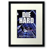 DIE HARD 8 Framed Print