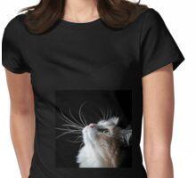 whisker eye Womens Fitted T-Shirt
